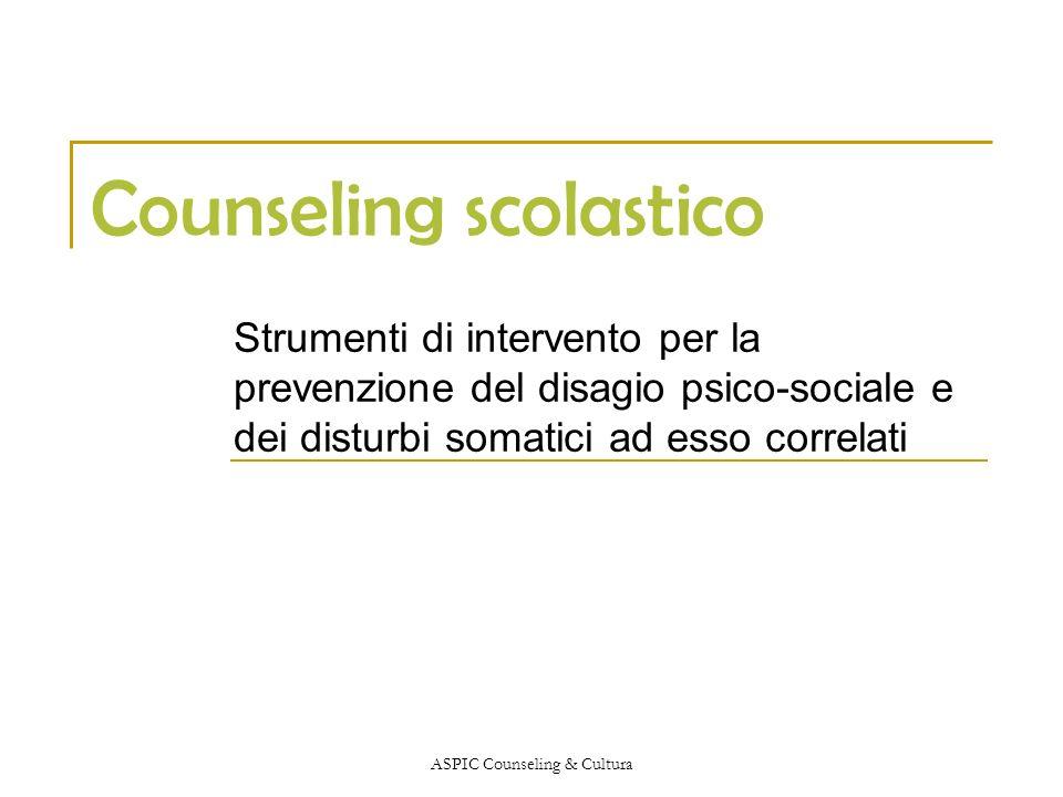 Counseling scolastico
