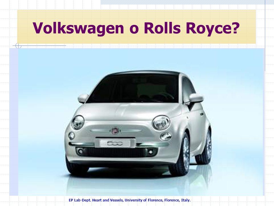 Volkswagen o Rolls Royce