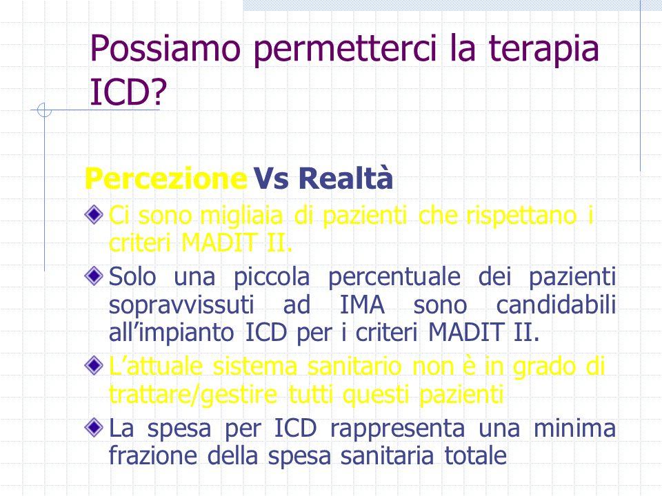 Possiamo permetterci la terapia ICD
