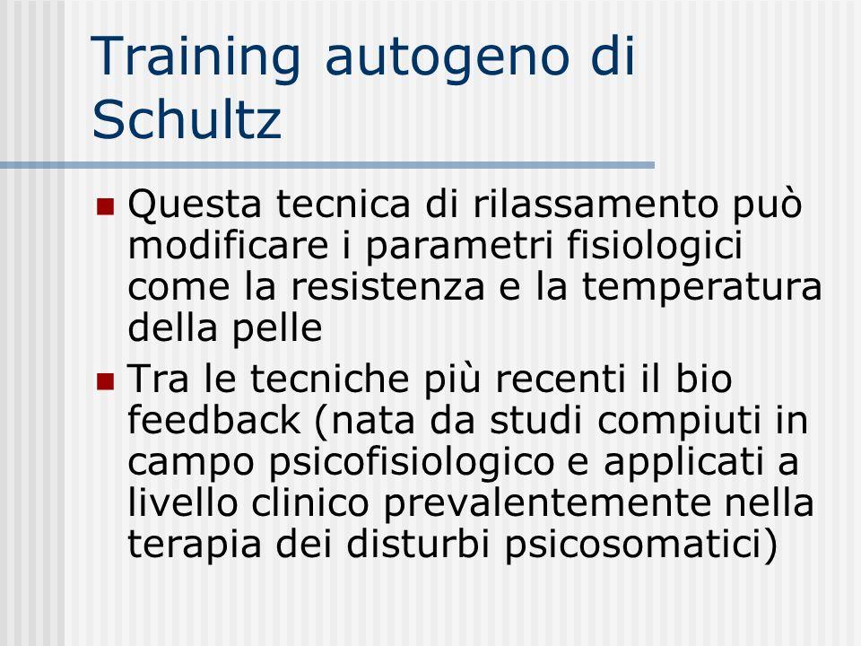 Training autogeno di Schultz