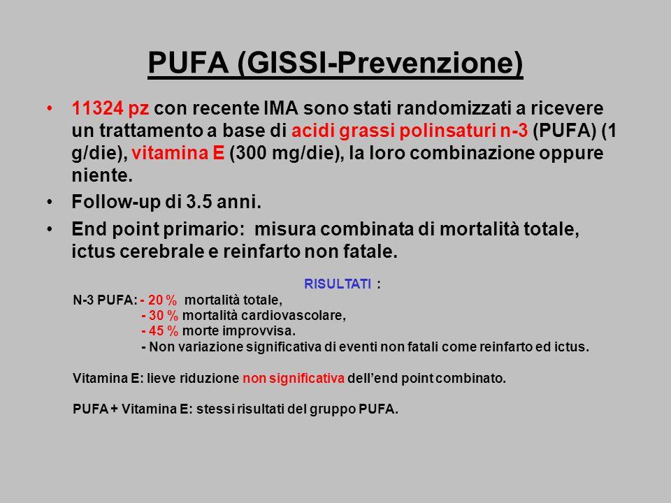 PUFA (GISSI-Prevenzione)