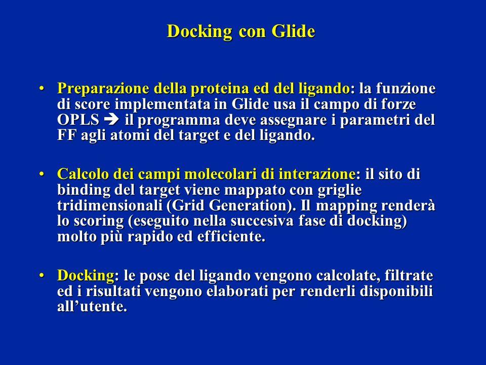 Docking con Glide