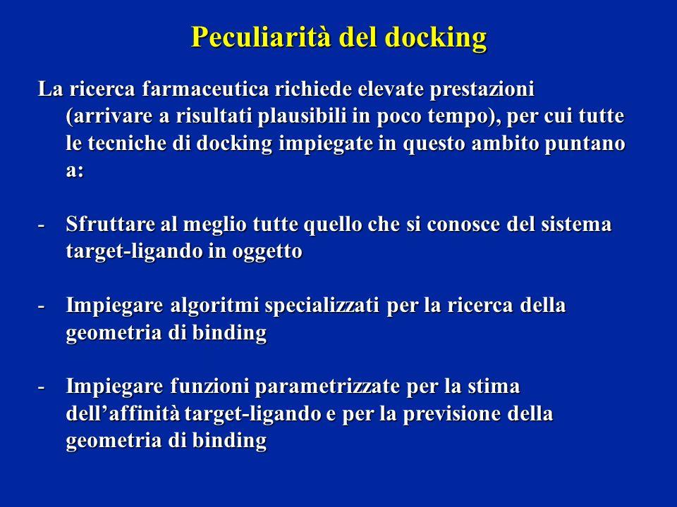 Peculiarità del docking