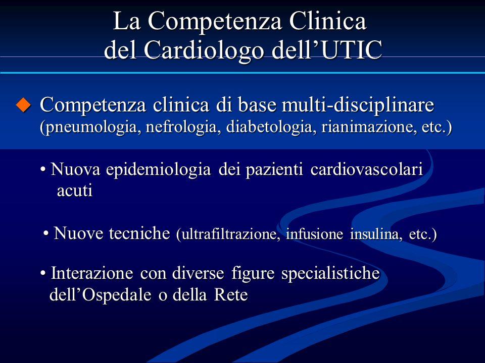 del Cardiologo dell'UTIC