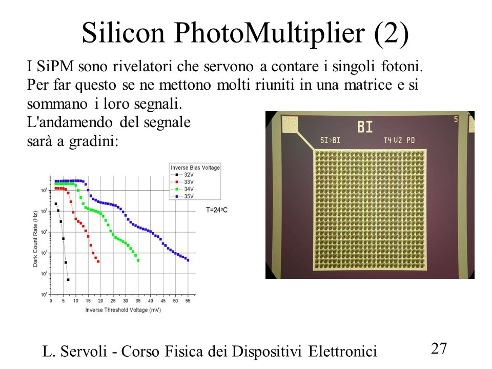 Silicon PhotoMultiplier (2)