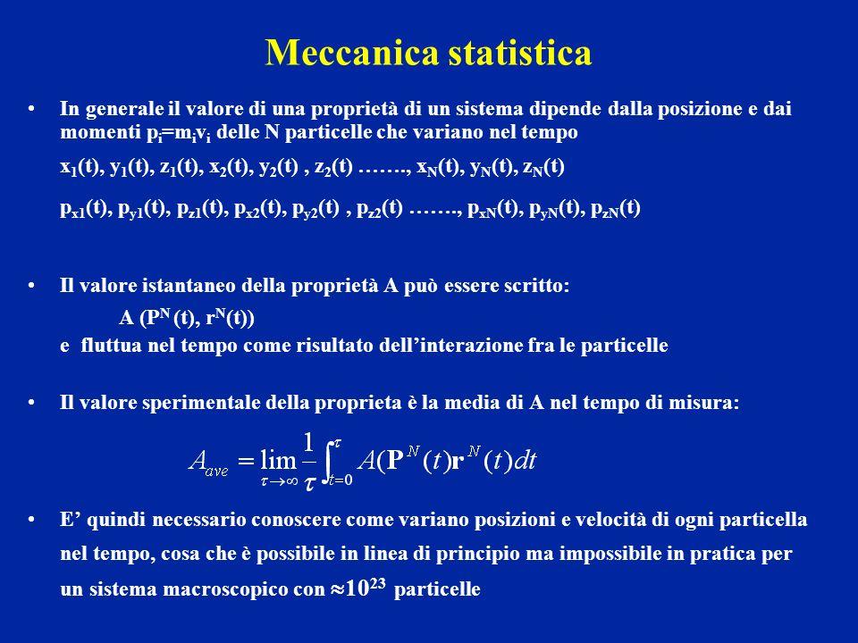 Meccanica statistica