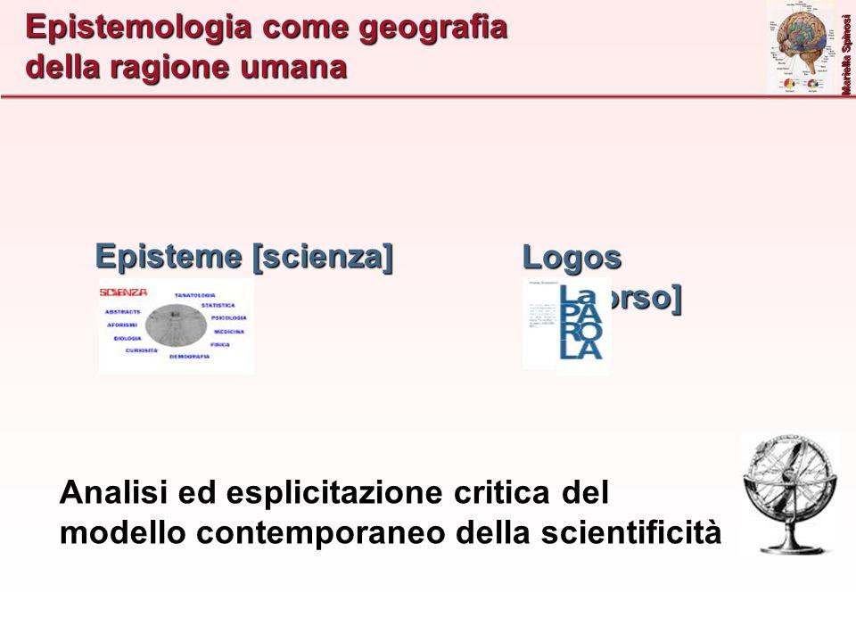Epistemologia come geografia della ragione umana