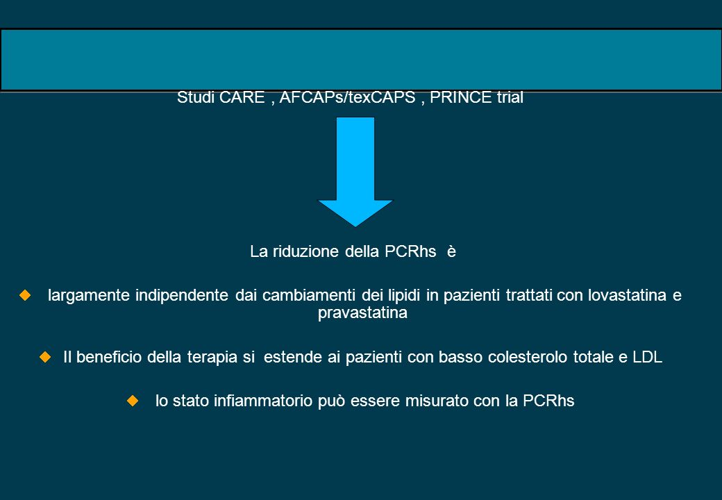 Studi CARE , AFCAPs/texCAPS , PRINCE trial
