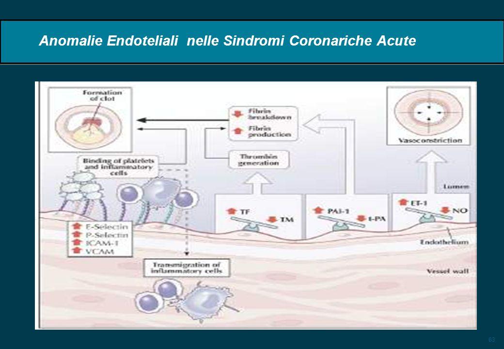 Anomalie Endoteliali nelle Sindromi Coronariche Acute