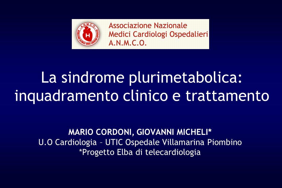 La sindrome plurimetabolica: inquadramento clinico e trattamento