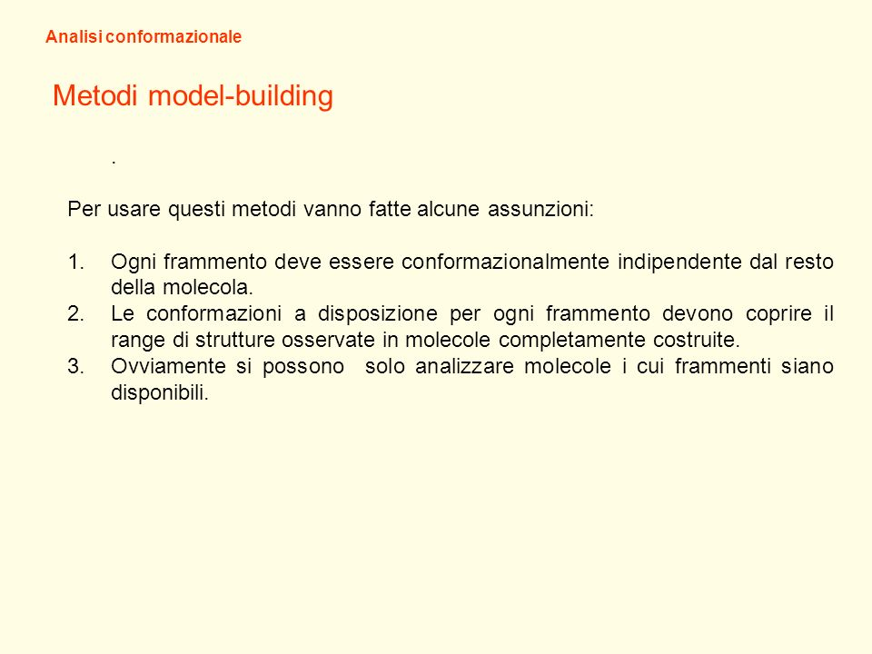 Metodi model-building