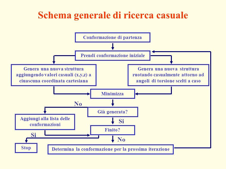 Schema generale di ricerca casuale