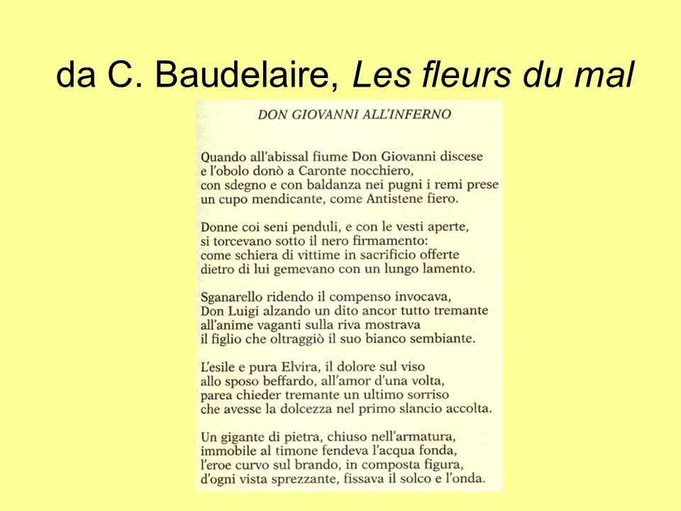 da C. Baudelaire, Les fleurs du mal