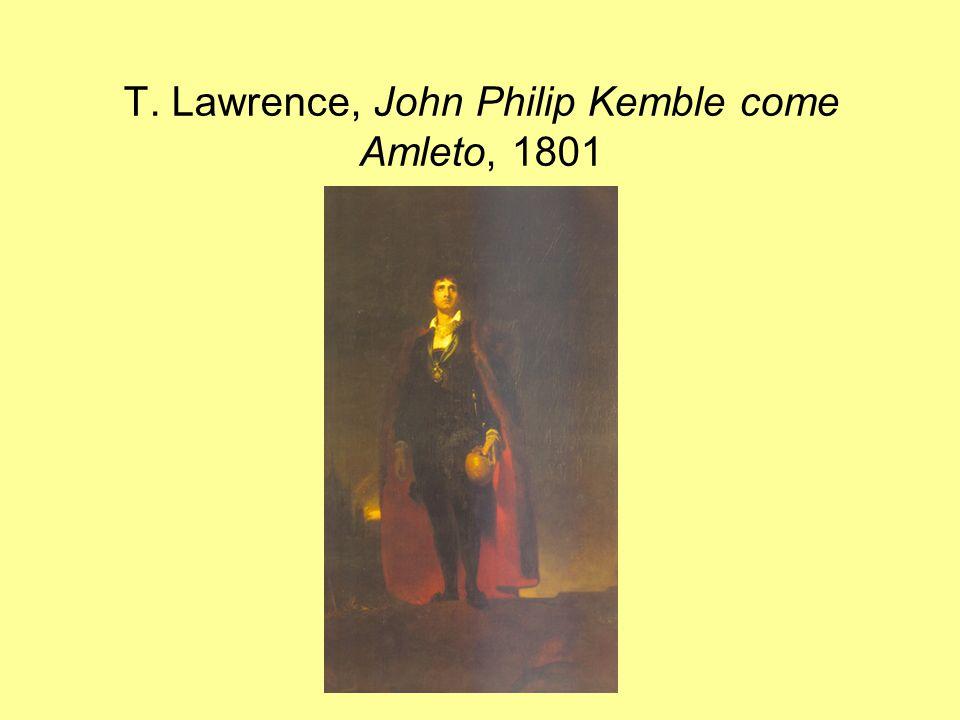 T. Lawrence, John Philip Kemble come Amleto, 1801