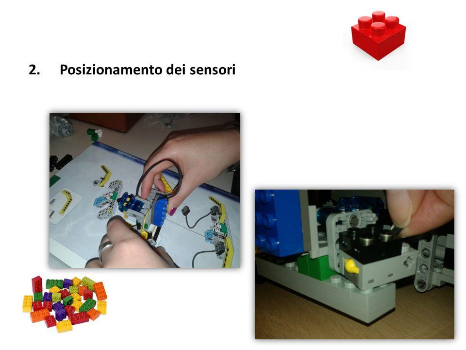 Posizionamento dei sensori