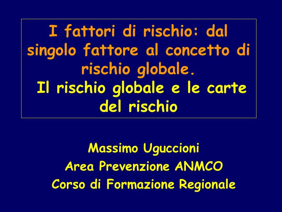 Massimo Uguccioni Area Prevenzione ANMCO Corso di Formazione Regionale