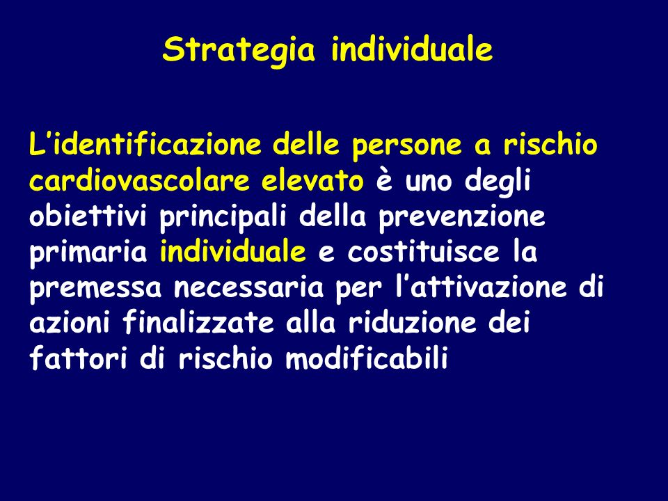 Strategia individuale