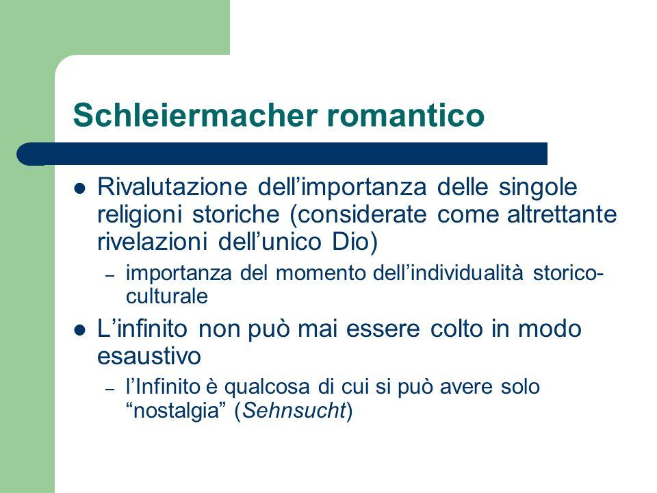 Schleiermacher romantico