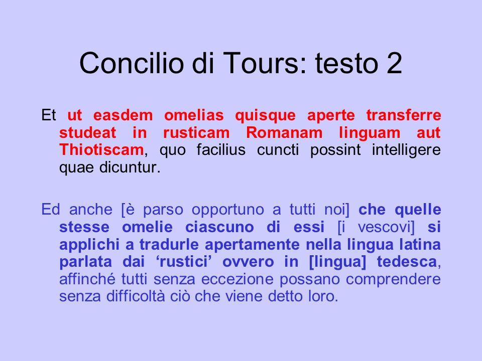 Concilio di Tours: testo 2
