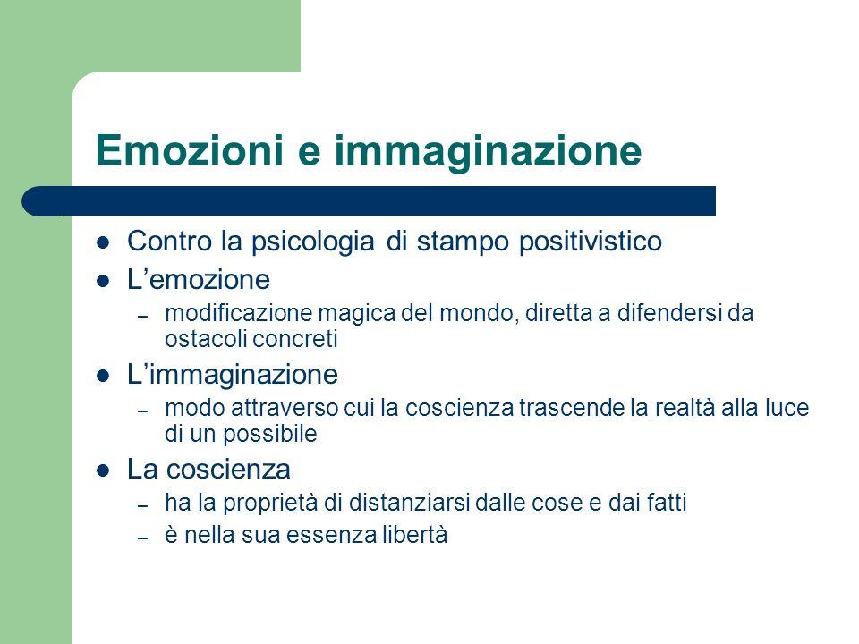 Emozioni e immaginazione