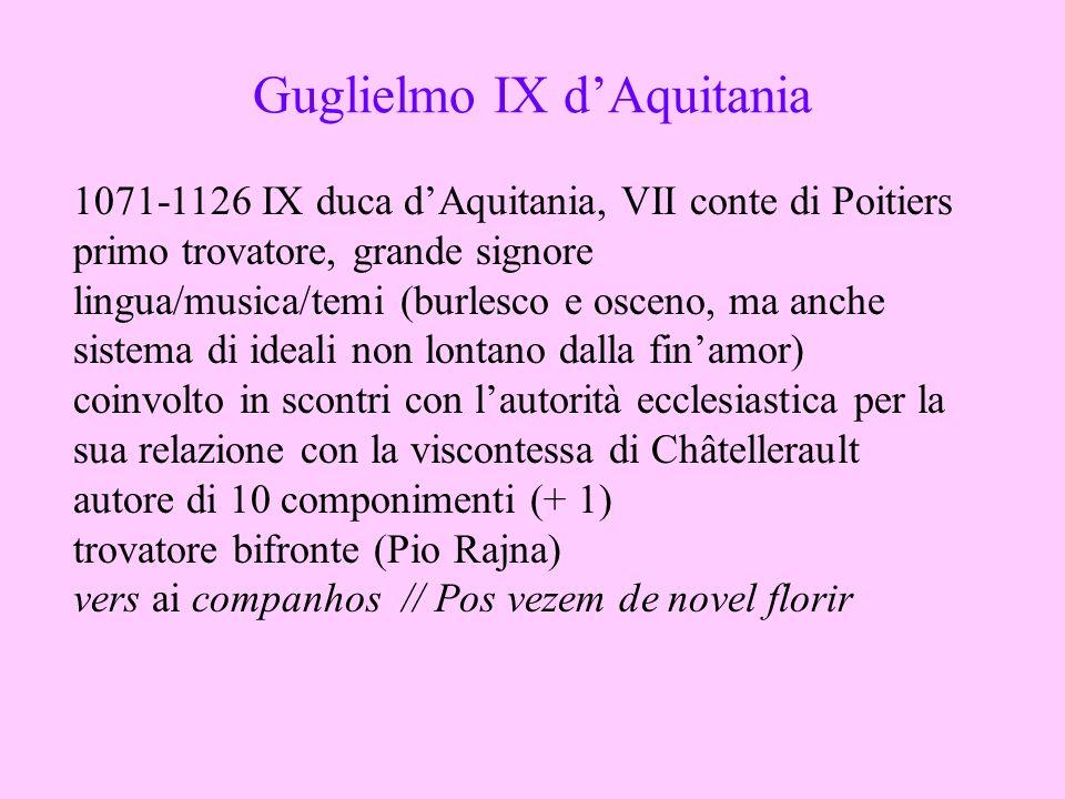 Guglielmo IX d'Aquitania