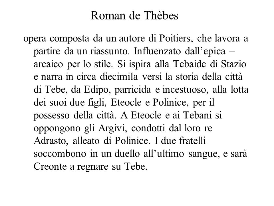Roman de Thèbes