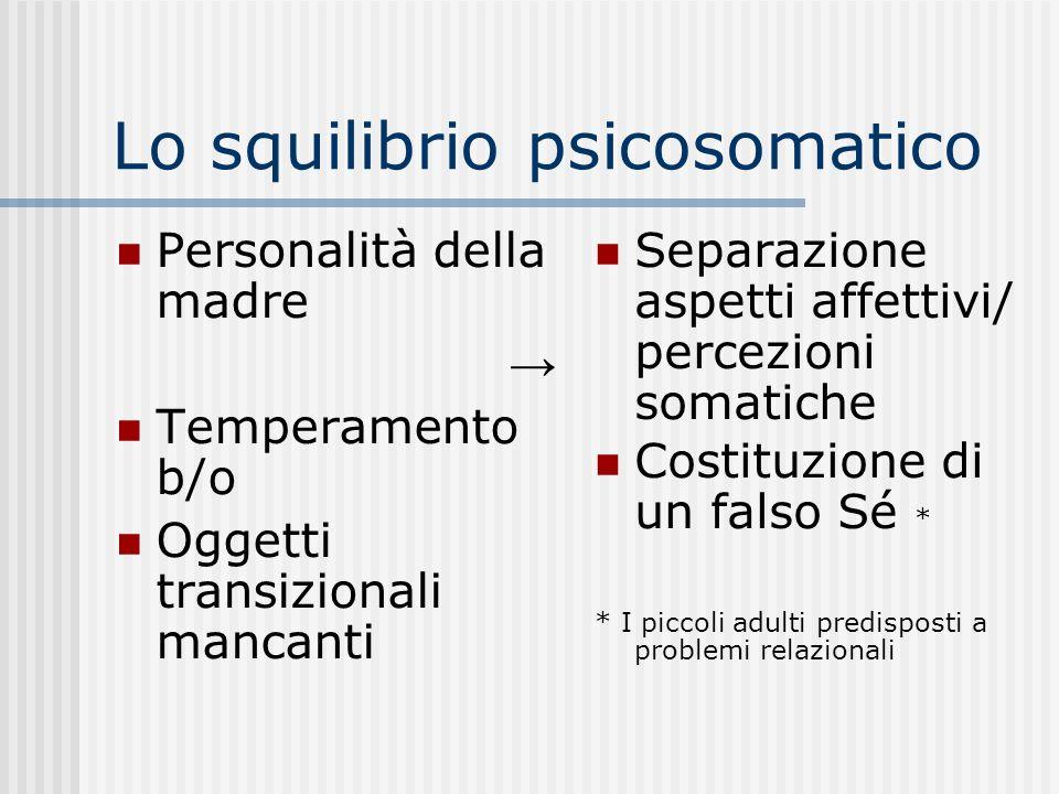 Lo squilibrio psicosomatico