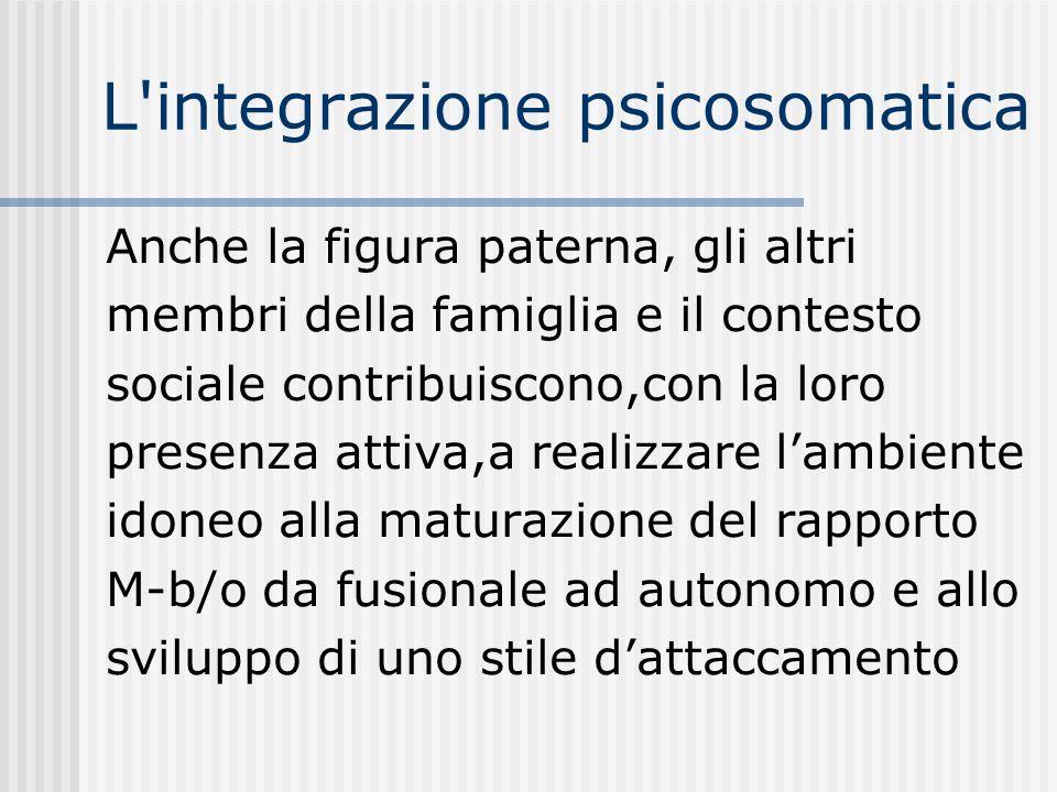 L integrazione psicosomatica