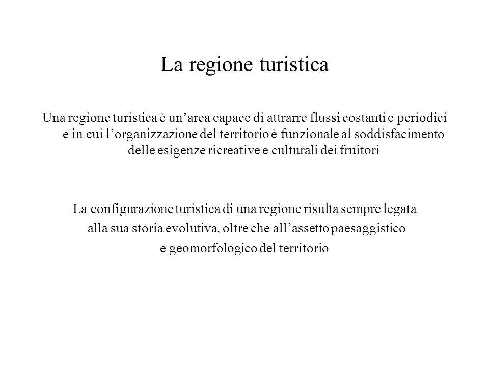 La regione turistica