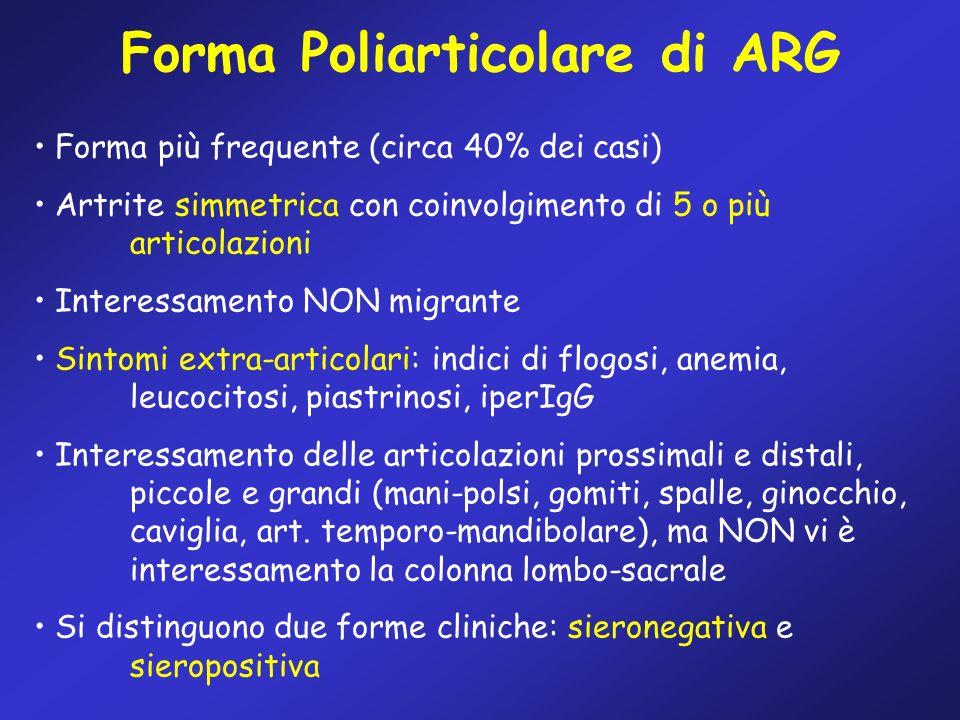 Forma Poliarticolare di ARG