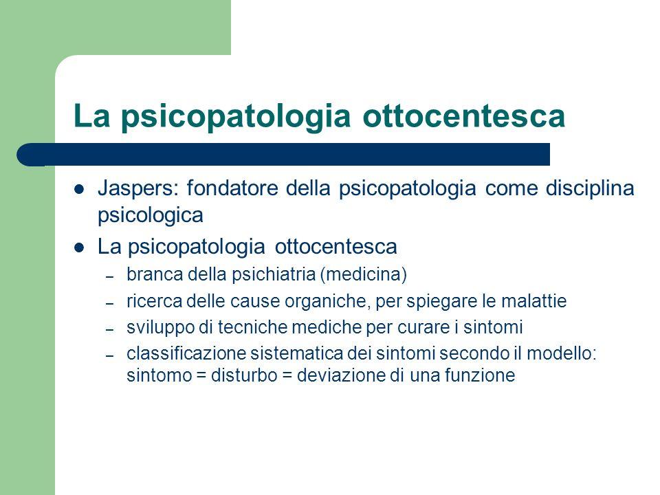 La psicopatologia ottocentesca