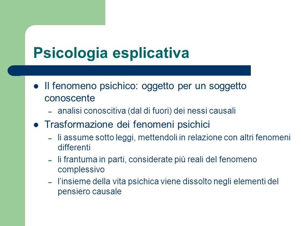 Psicologia esplicativa
