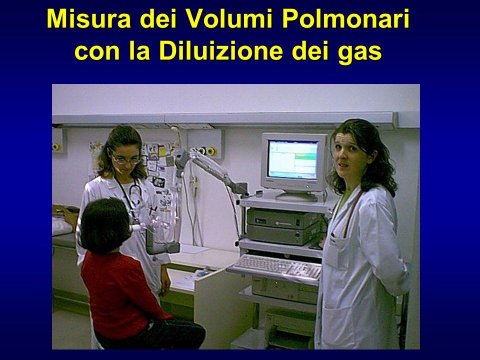 Misura dei Volumi Polmonari con la Diluizione dei gas