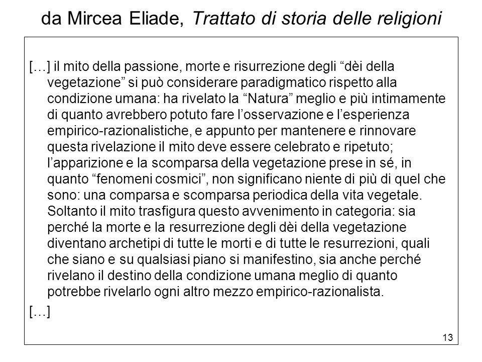 da Mircea Eliade, Trattato di storia delle religioni
