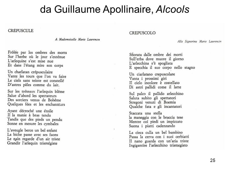 da Guillaume Apollinaire, Alcools