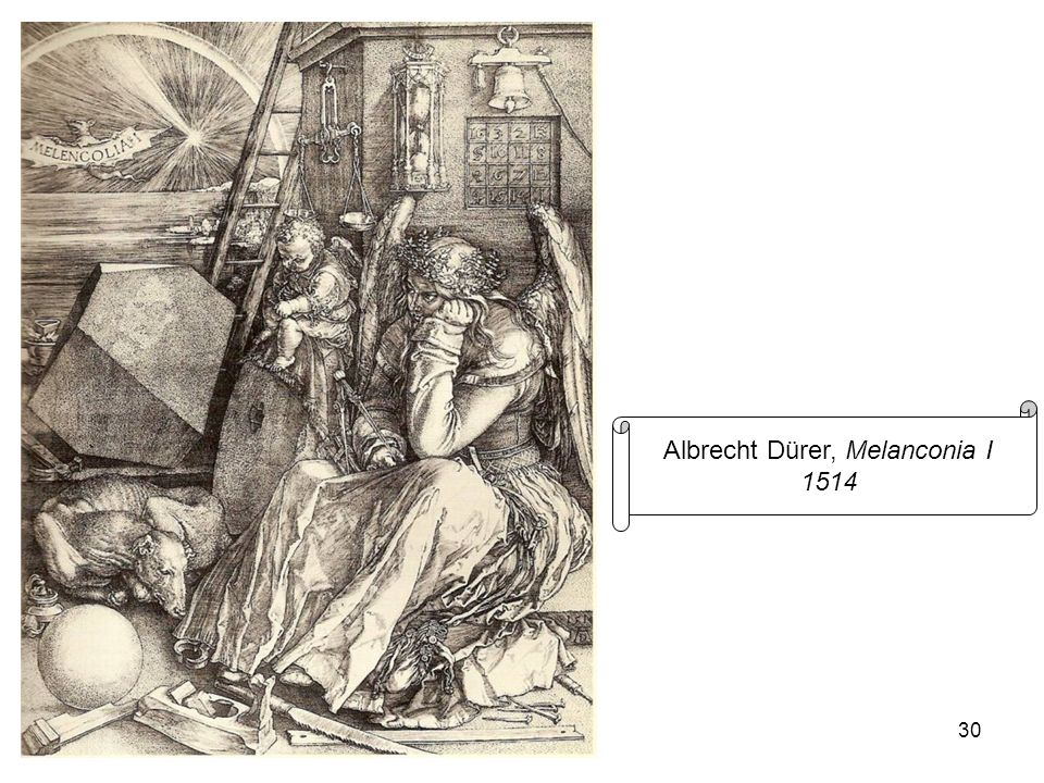 Albrecht Dürer, Melanconia I