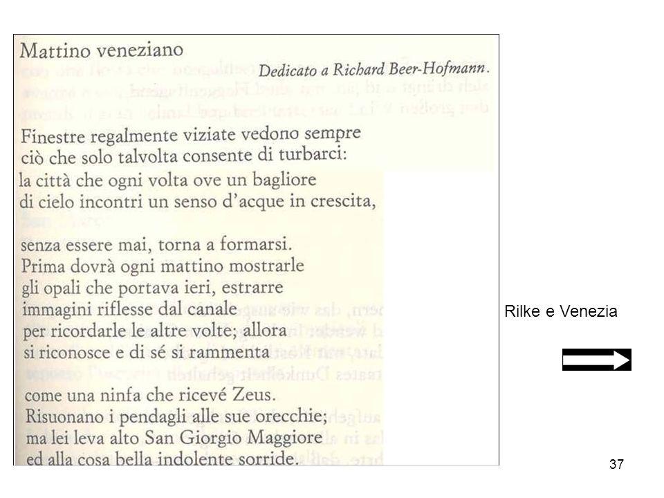 Rilke e Venezia