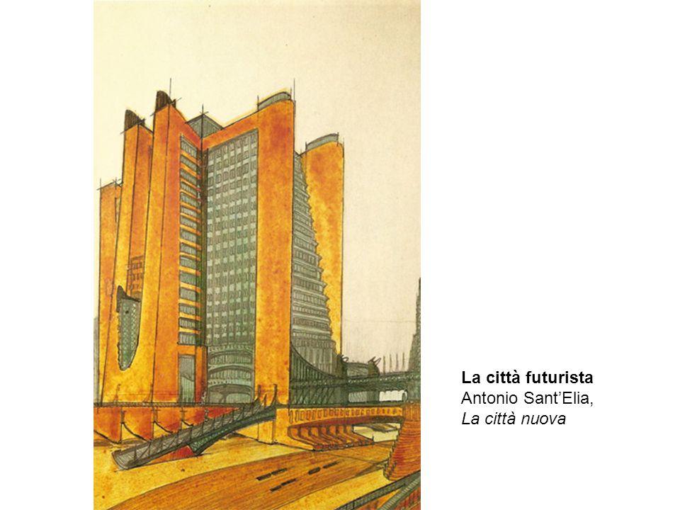 La città futurista Antonio Sant'Elia, La città nuova