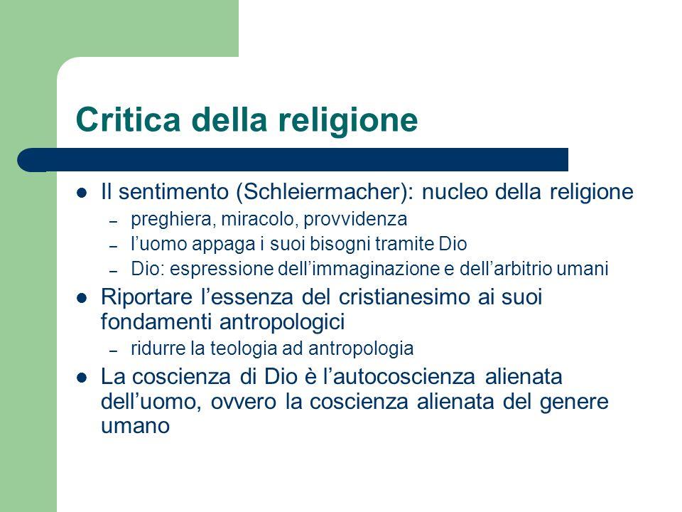 Critica della religione