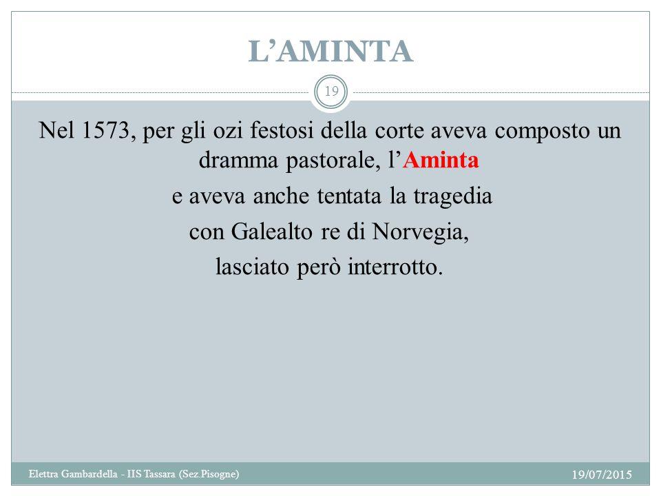 L'AMINTA