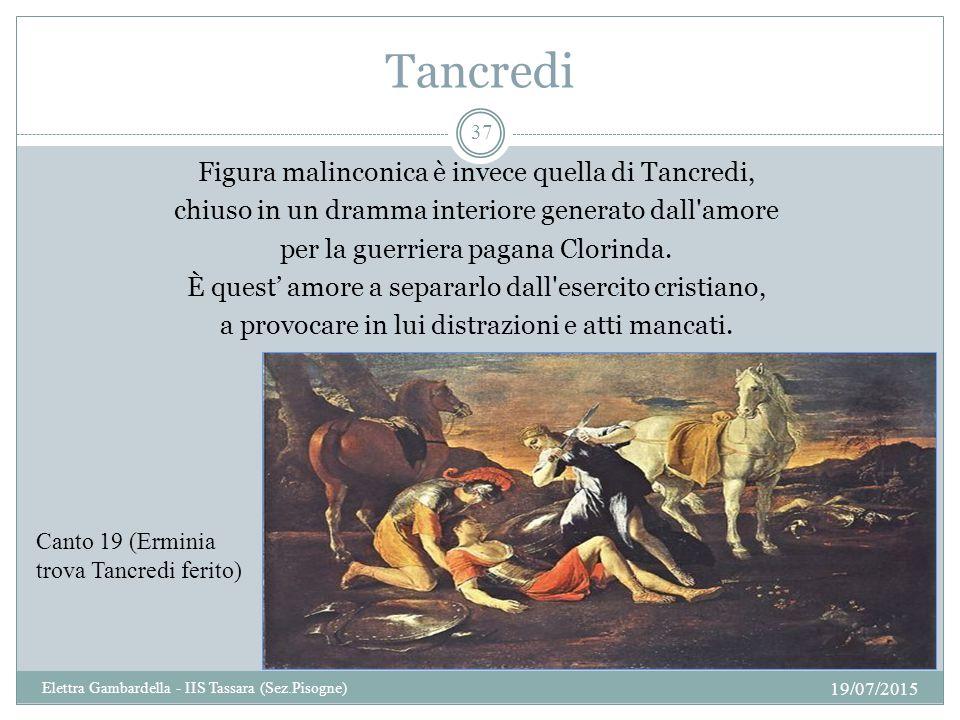 Tancredi Figura malinconica è invece quella di Tancredi,