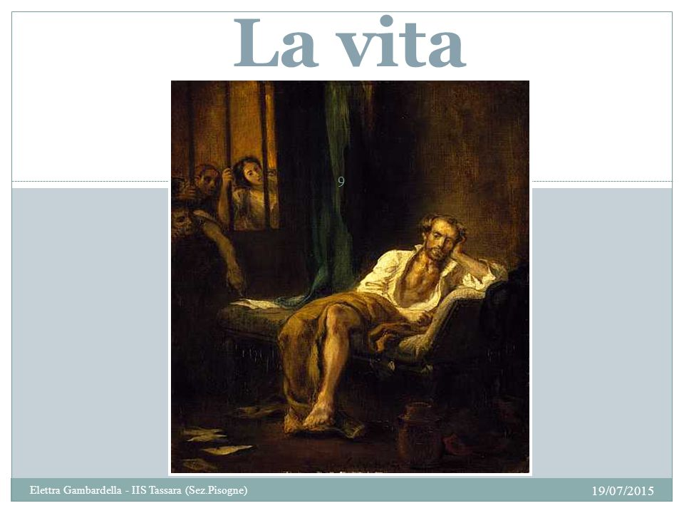 La vita Elettra Gambardella - IIS Tassara (Sez.Pisogne) 18/04/2017