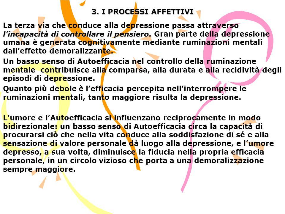 3. I PROCESSI AFFETTIVI
