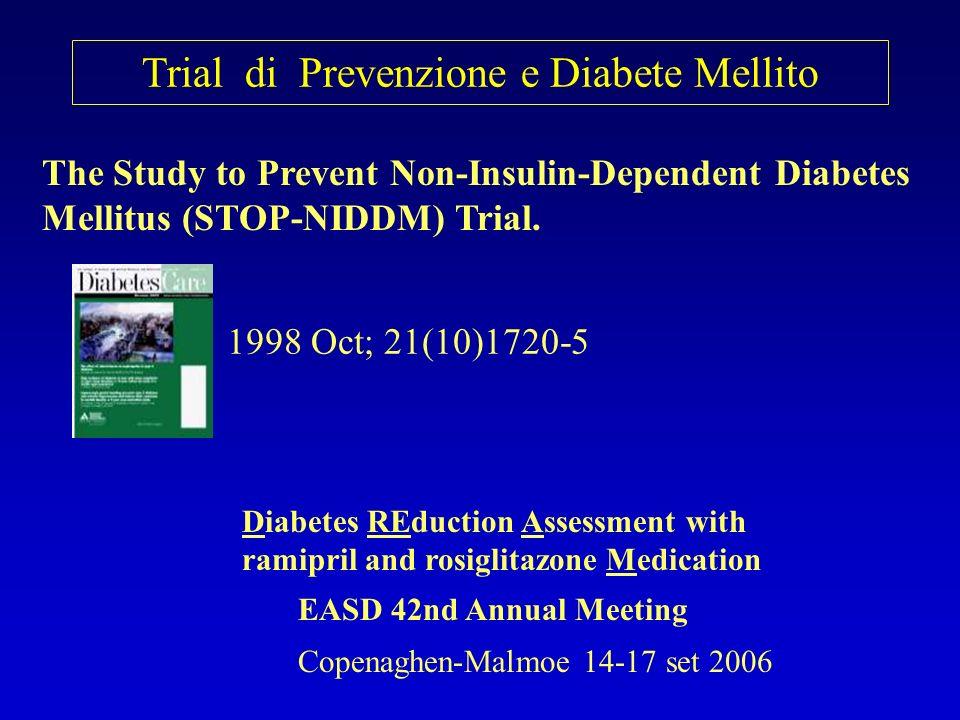 Trial di Prevenzione e Diabete Mellito