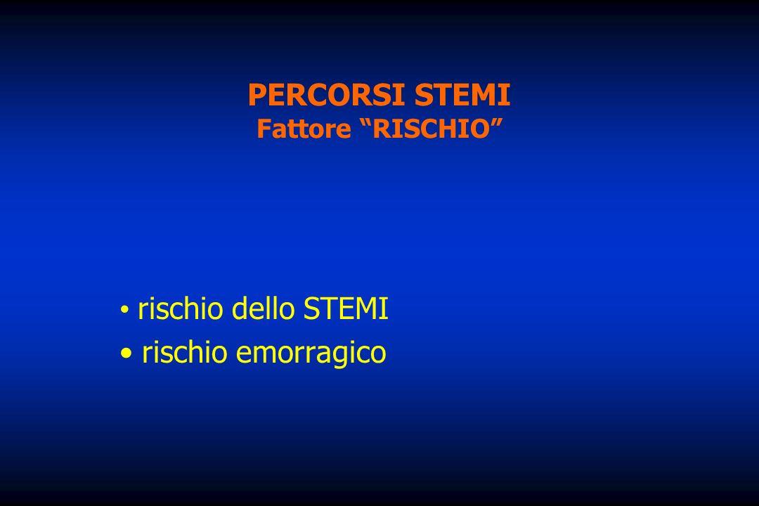 PERCORSI STEMI Fattore RISCHIO