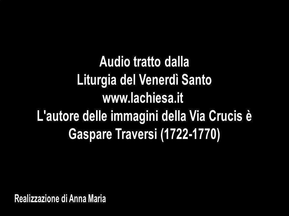 Liturgia del Venerdì Santo www.lachiesa.it