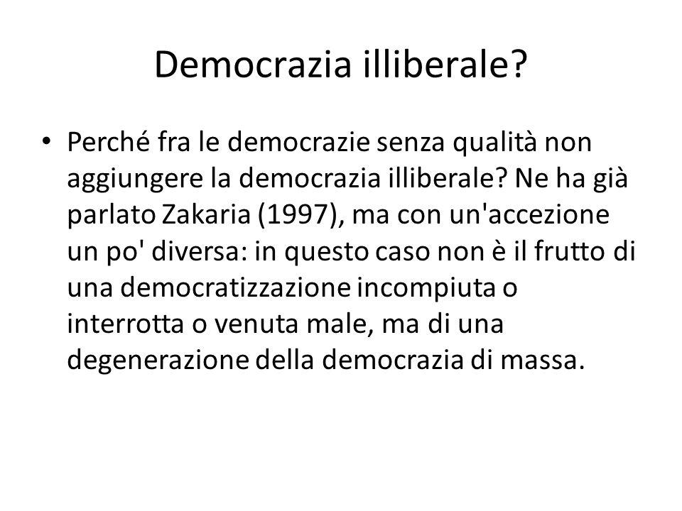 Democrazia illiberale
