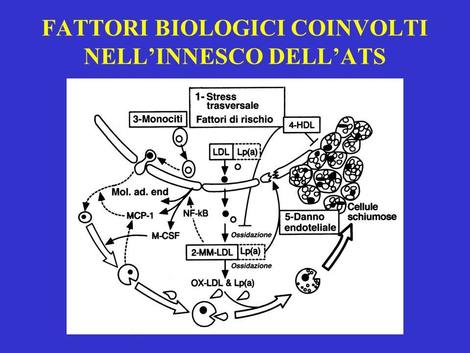FATTORI BIOLOGICI COINVOLTI NELL'INNESCO DELL'ATS