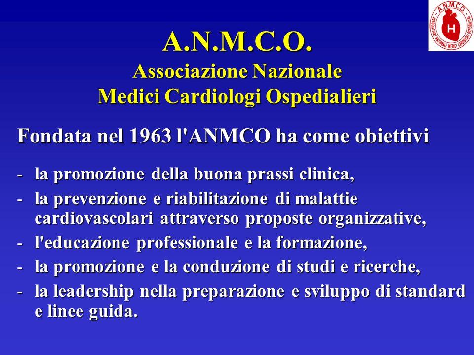 A.N.M.C.O. Associazione Nazionale Medici Cardiologi Ospedialieri