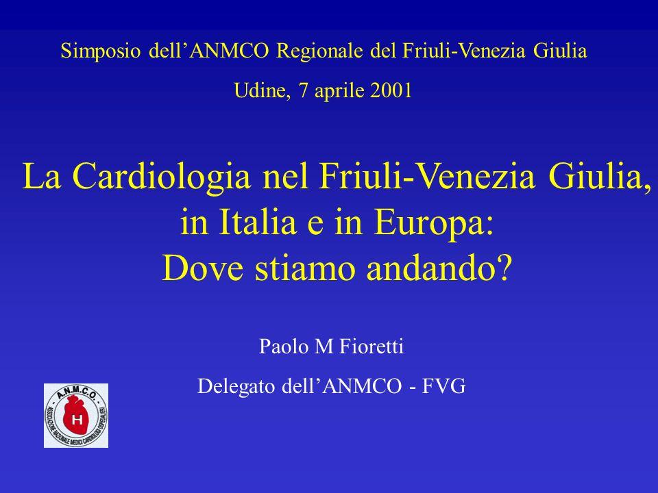 Simposio dell'ANMCO Regionale del Friuli-Venezia Giulia